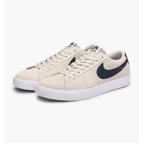 Zapatillas Nike Sb Blazer Vapor Crema Nuevas Unisex