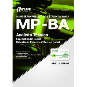 Apostila Assistente Social Mp Ba 2017 - Analista Técnico