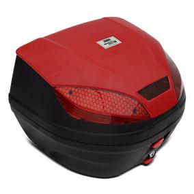 Baú Bauleto Moto 30 Litros Pro Tork Smart Box 3 Preto
