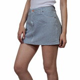 Minifalda Jean Rayado 45035 Salta Mujer Mistral V17