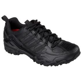 Zapato Tenis Skechers For Work En 24 Cuero Y Antiderrapante