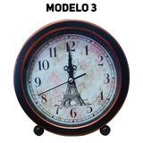 4 Relógio Retro Vintage Despertador Clássico Alarme Pilha