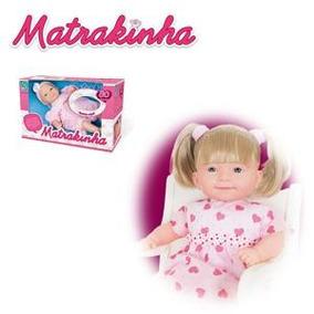 Boneca Matrakinha Com Cabelo 80 Frases - Super Toys