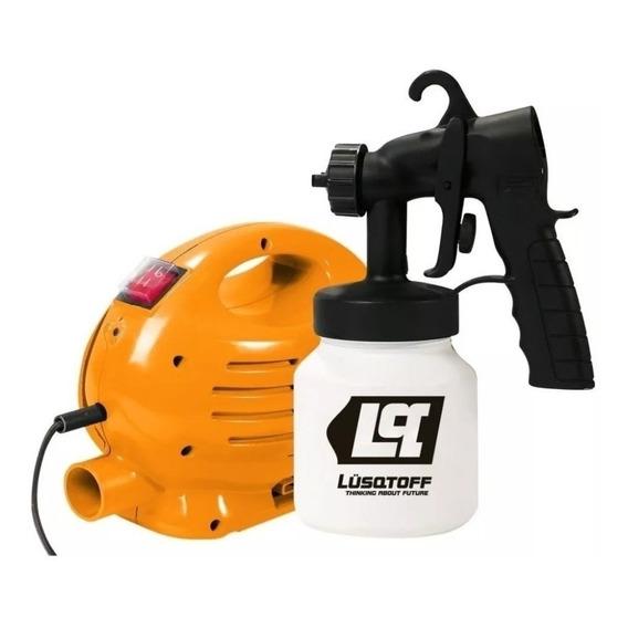 Equipo Pistola Para Pintar Compresor Htep1004 Cuotas S/inter