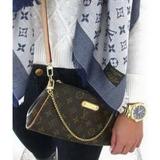 Bolsa Louis Vuitton Eva Clutch Couro Legitimo + Brindes
