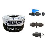 Kit Completo P/ Irrigação Por Gotejamento (tubo + Conexoes)