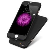 Carcasa Protector Estuche Iphone 7 360 + Vidrio Templado.