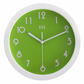 Hito Moderno Colorido Silencioso No-ticking Reloj De Pared-1