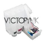 Sistema De Tinta Impresora Epson Xp201/211 +4 Tintas 400ml