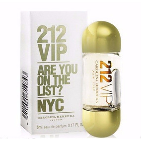 Miniatura | Perfume 212 Vip Edp 5ml Feminino | Original