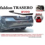 Faldon Trasero Spoiler Deportivo Chevrolet Aveo Envio Gratis