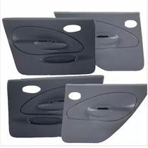 Kit 4 Forros Porta Fiesta 4 Pts 96 97 98 99 00 01 Eletrico