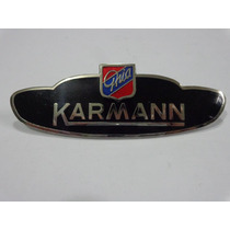 Emblema Karmann Guia Lateral West Coast Metric