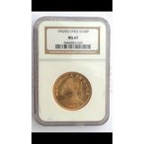 Moneda 100 Pesos 1962, Oro