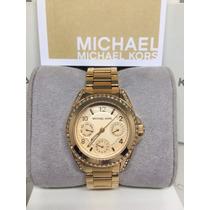 Relógio Michael Kors Mk3487 Femme - Dourado Rosê Import. Usa