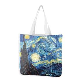 Ecobag Sacola Bolsa Artes Artista Van Gogh Noite Estrelada