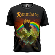 Camiseta Rainbow Rising Other Side Blackmore Dio Digital