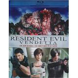 Resident Evil Vendetta Venganza Pelicula Blu-ray