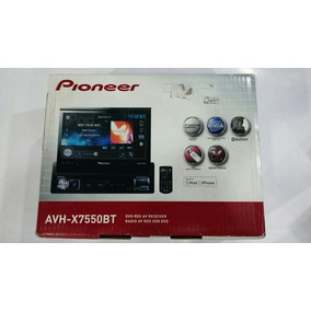Reproductor Pantalla Dvd Pioneer Avh-x7550bt*