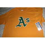 Playera Mlb Oakland Athletics Vintage