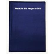 Capa Porta Manual Proprietário Universal Em Pvc