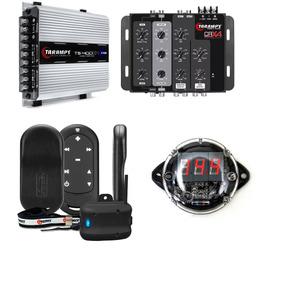 Kit Crossover Crx4 + Ts400 2ohm + Vtr1000 + Tlc3000 Taramps