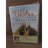 Dvd - As Sete Leis Espirituais Do Sucesso - Deepak Chopra