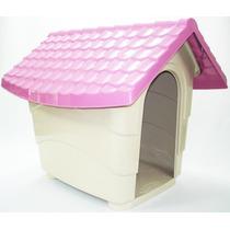 Casa Casinha De Cachorro Cães N4 82x70x70 Pet Escolha A Cor