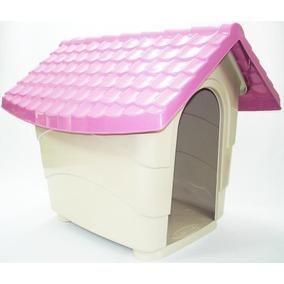 Casa Casinha Cachorro Cães N4 Area Util 65x55x55 Pet Cores