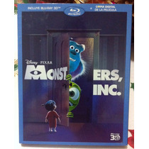 Monsters Inc. Blu-ray 3d
