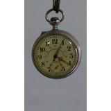 Relógio Roscoff De Bolso Anos40/50, Relíquia