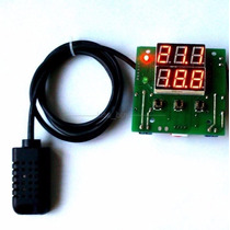 Control Digital De Humedad Y Temperatura Higrostato + Envio