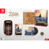 Zelda Breath Of The Wild Nintendo Switch ¡edición Especial!