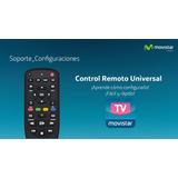 Control Remoto Universal Movistar Decodificador & Televison