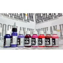 Tinta Tattoo Ultra Ink Gama Color Nº6 X 1oz Tatuajes Tatuar