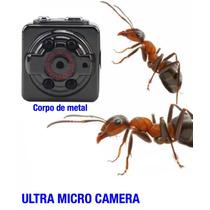 Super Micro Camera Inteligente Visao Noturna Espionagem