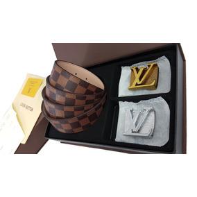Cinturon Para Caballero Lv Doble Hebilla