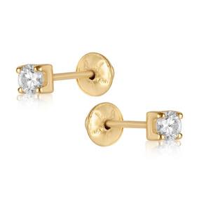 0b60070b73a Brinco Em Ouro 18k Cartier Com Diamante 14 Pontos por Rosana Joias e  Relógios