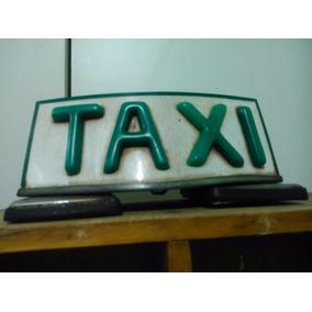 Luminoso Taxi Anos 60/70