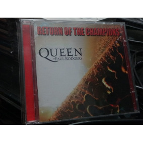 Cd - Queen + Paul Rodgers - Return Of The Champions Duplo