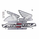 Kit Adesivo Honda Fan 150 Esdi 2012 Cinza -frete R$9,90