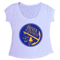 T-shirt Blusa Feminina Em Tecido Flamê Com Elastano - F018