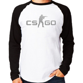 Camisa Blusa Cs Go Counter Striker M.longa Global Offensive