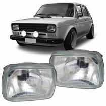 Farol De Vidro Fiat 147 1976 1977 1978 1979 80 Mod Original