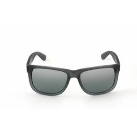 ce0f0bf8262 Gafas Ray Ban Rb  88 Justin Rubber Gray gray Silver Mirror