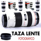 Taza Lente Térmica Camara Mug Geek Fotográfico Pico Vertedor