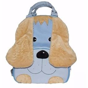 Mochila Cachorro Azul G