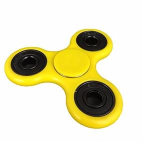 Fidget Spinner - Anti Estrés - Color Amarillo