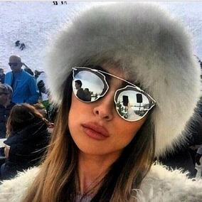 Óculos De Sol Feminino So Real Prata Várias Cores + Case