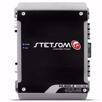 Módulo Amplificador Stetsom Hl-800.4 Antigo V-800.4 900w Rms